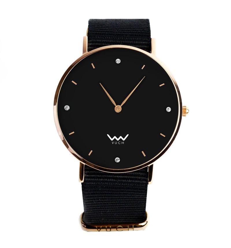 Dámske hodinky s čiernym ciferníkom - Vuch d72d60c85b