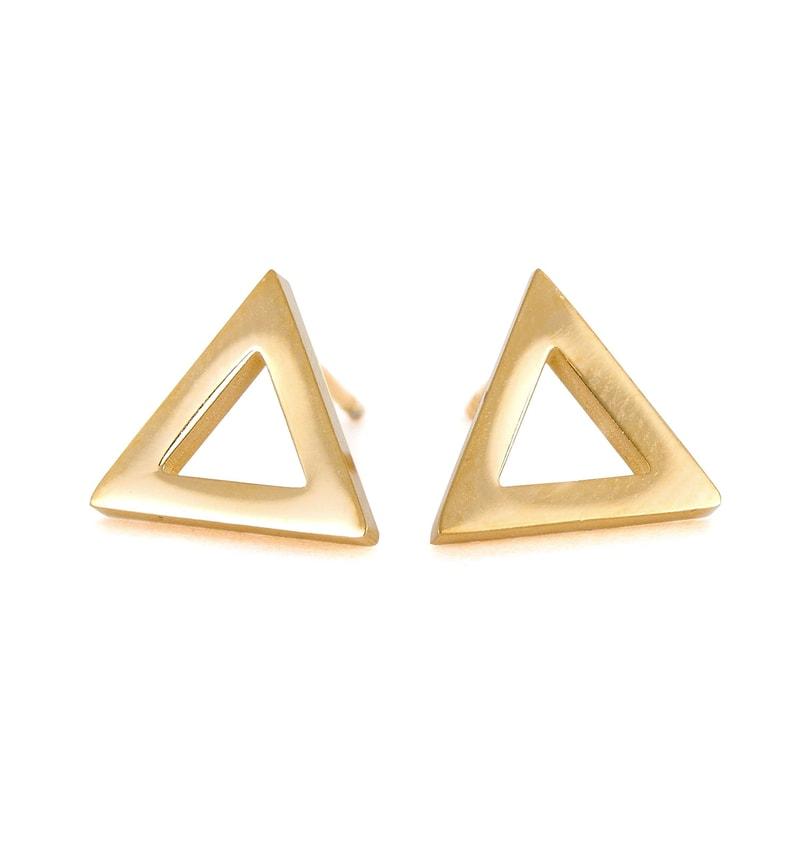 Náušnice Triangle Gold - VUCH - Náušnice - Šperky - Vuch a582b765683